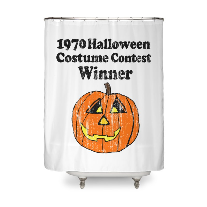 Vintage 1970 Halloween Costume Contest Winner Home Shower Curtain by ericallen's Artist Shop
