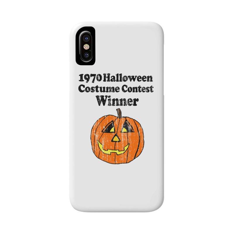 Vintage 1970 Halloween Costume Contest Winner Accessories Phone Case by ericallen's Artist Shop