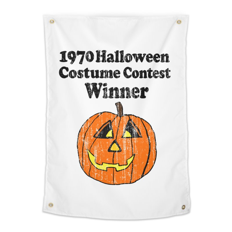 Vintage 1970 Halloween Costume Contest Winner Home Tapestry by ericallen's Artist Shop