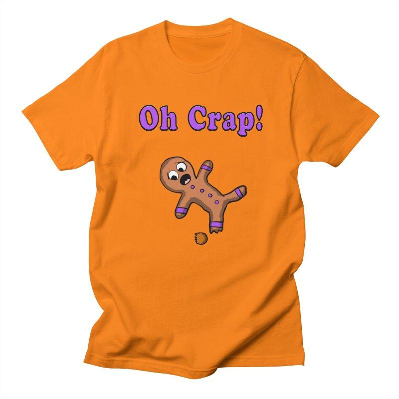 Oh Crap Gingerbread Man Women's Unisex T-Shirt by ericallen's Artist Shop