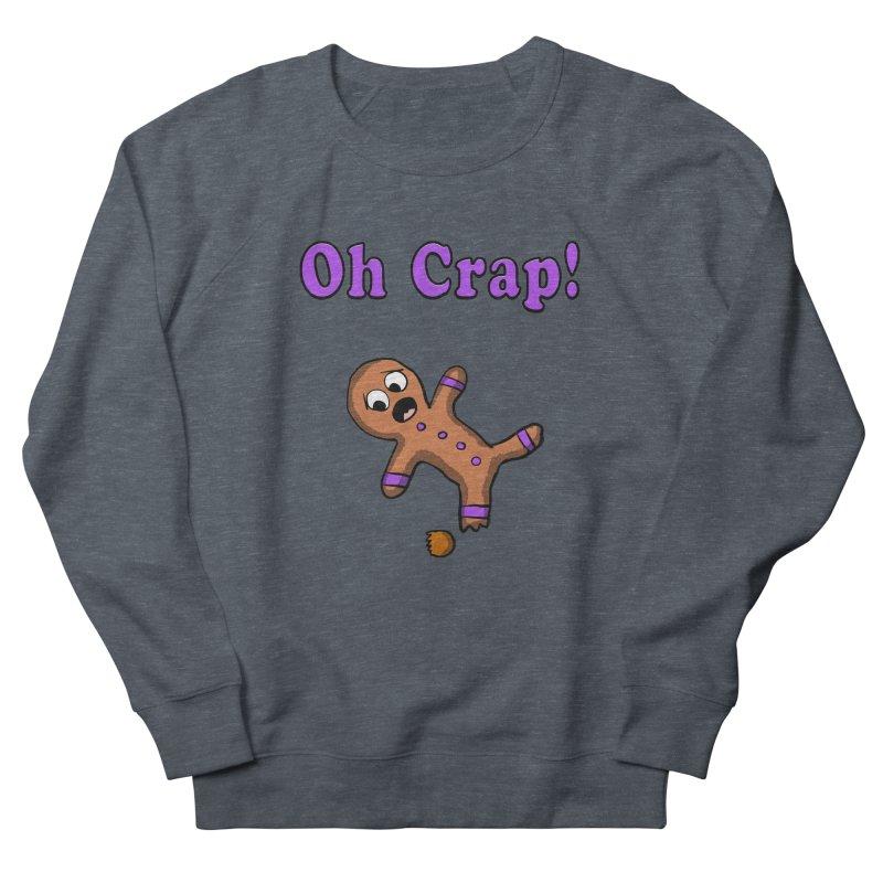 Oh Crap Gingerbread Man Men's Sweatshirt by ericallen's Artist Shop