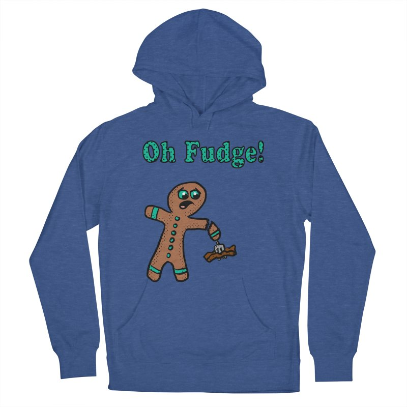 Oh Fudge Gingerbread Man Men's Pullover Hoody by ericallen's Artist Shop
