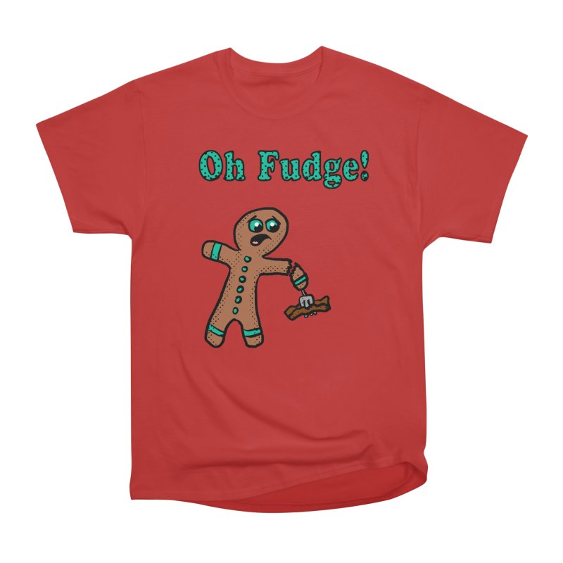 Oh Fudge Gingerbread Man Men's Classic T-Shirt by ericallen's Artist Shop