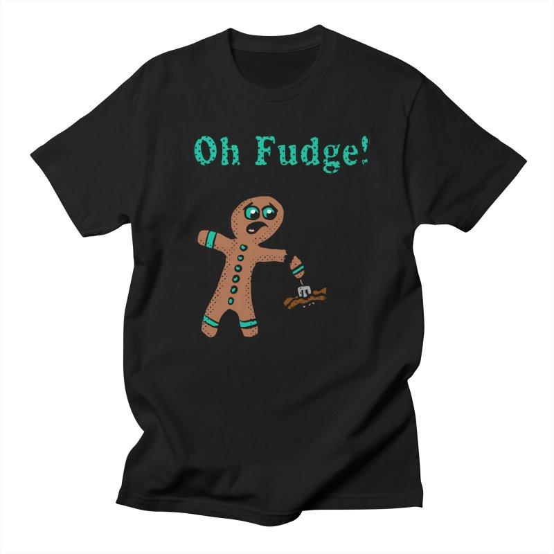 Oh Fudge Gingerbread Man Women's Unisex T-Shirt by ericallen's Artist Shop
