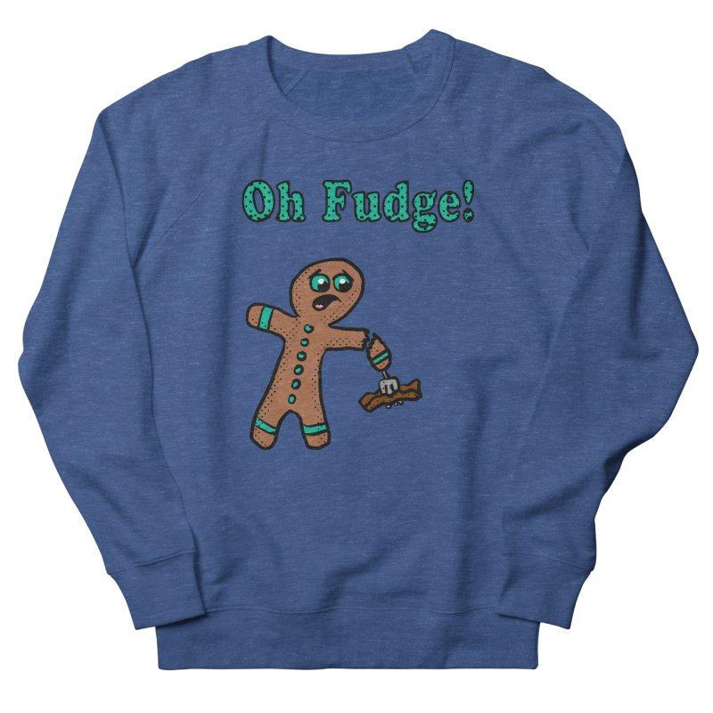 Oh Fudge Gingerbread Man Women's Sweatshirt by ericallen's Artist Shop