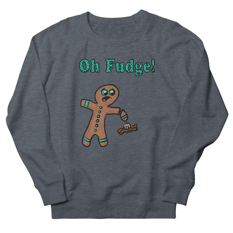 Oh Fudge Gingerbread Man Men's Sweatshirt by ericallen's Artist Shop