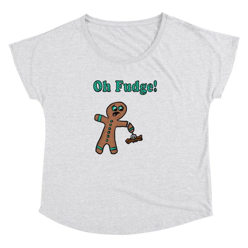 Oh Fudge Gingerbread Man Women's Dolman by ericallen's Artist Shop