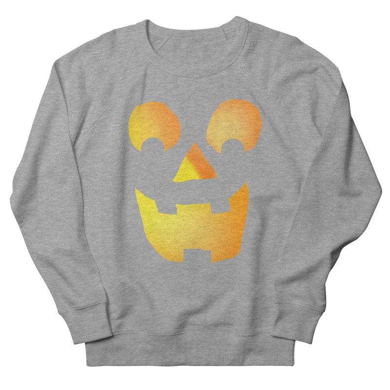 Glowing Jackolantern Face  Women's Sweatshirt by ericallen's Artist Shop