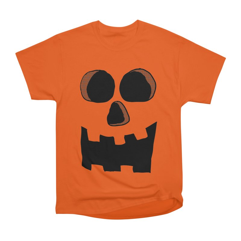 Funny Jackolantern Face Men's Classic T-Shirt by ericallen's Artist Shop