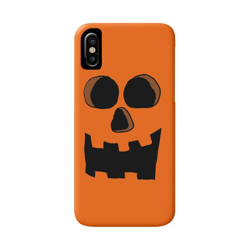 Funny Jackolantern Face Accessories Phone Case by ericallen's Artist Shop