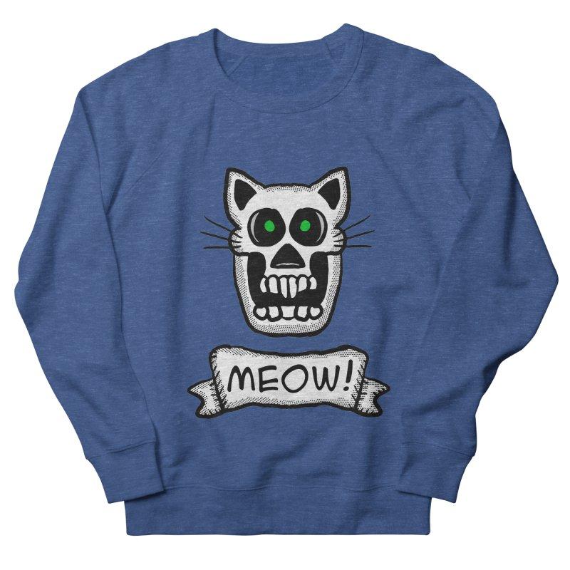 Cat Skull Women's Sweatshirt by ericallen's Artist Shop