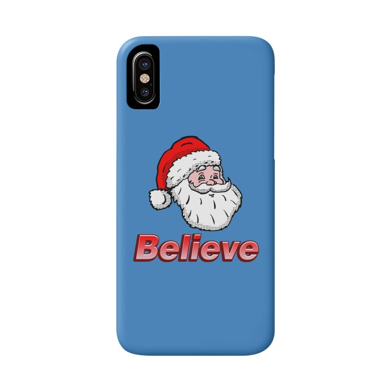 Believe Santa Accessories Phone Case by ericallen's Artist Shop
