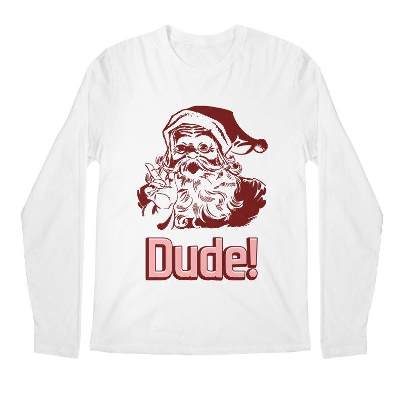 Dude Santa Men's Longsleeve T-Shirt by ericallen's Artist Shop