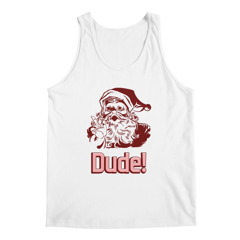 Dude Santa Men's Tank by ericallen's Artist Shop