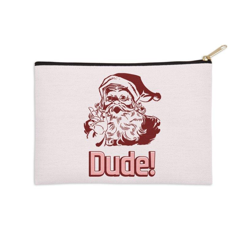 Dude Santa Accessories Zip Pouch by ericallen's Artist Shop