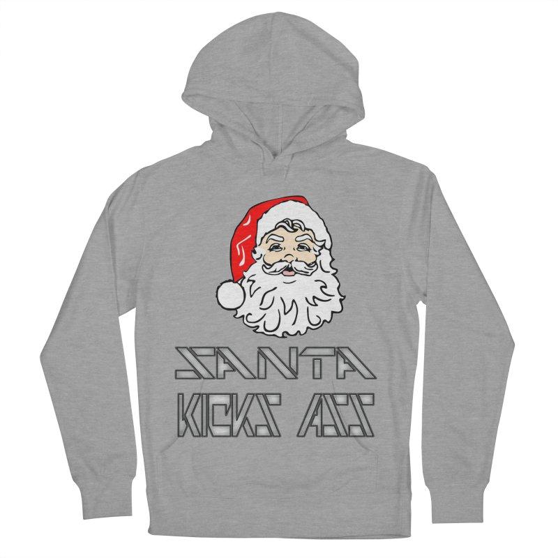 Santa Kicks Ass! Women's Pullover Hoody by ericallen's Artist Shop