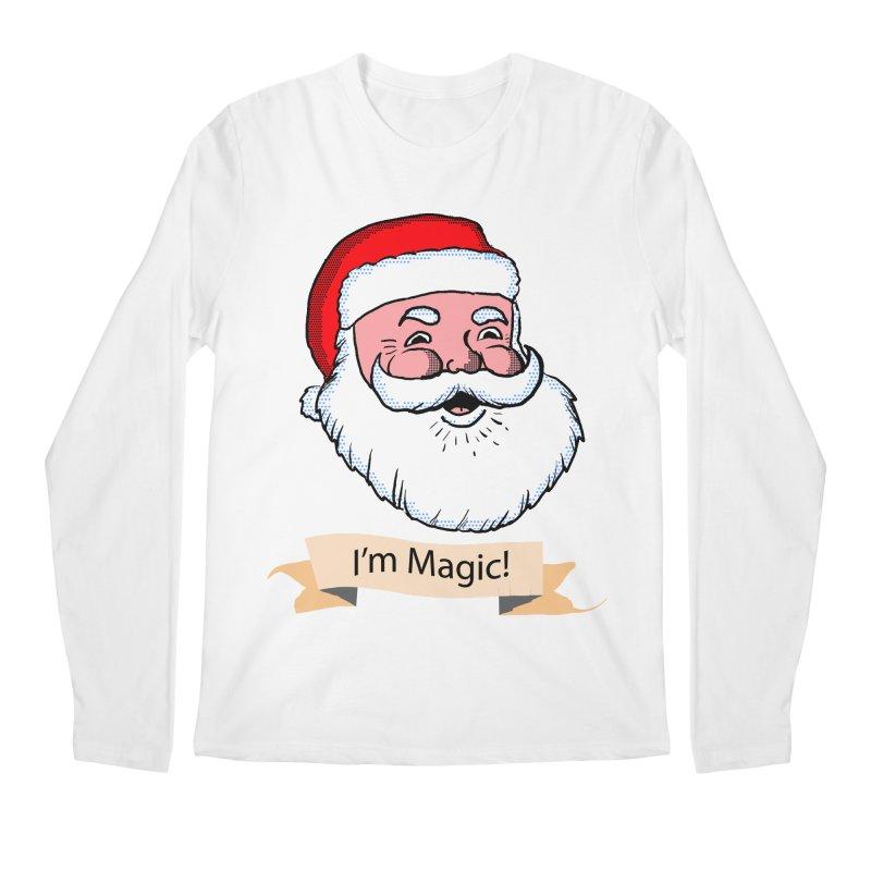 I'm Magic Santa Men's Longsleeve T-Shirt by ericallen's Artist Shop