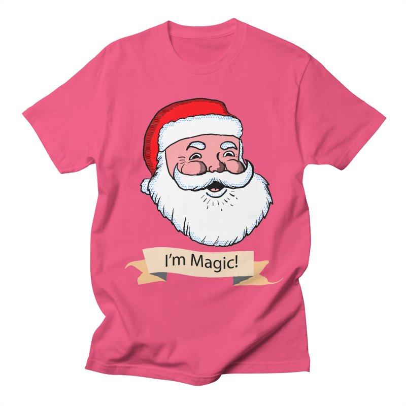 I'm Magic Santa Men's T-Shirt by ericallen's Artist Shop