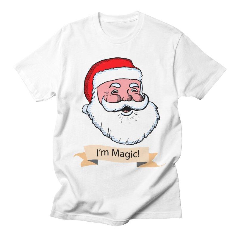 I'm Magic Santa Women's Unisex T-Shirt by ericallen's Artist Shop