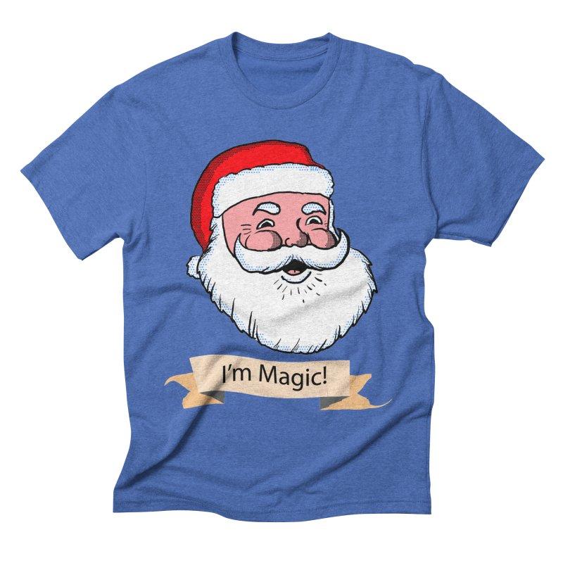 I'm Magic Santa Men's Triblend T-Shirt by ericallen's Artist Shop