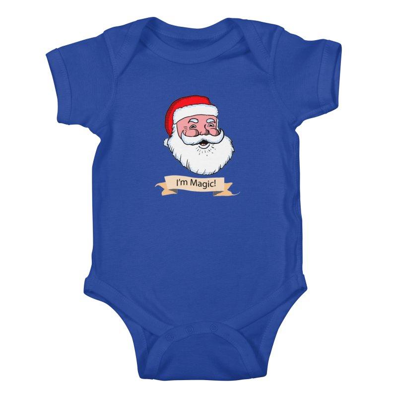 I'm Magic Santa Kids Baby Bodysuit by ericallen's Artist Shop