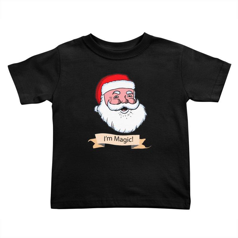 I'm Magic Santa Kids Toddler T-Shirt by ericallen's Artist Shop