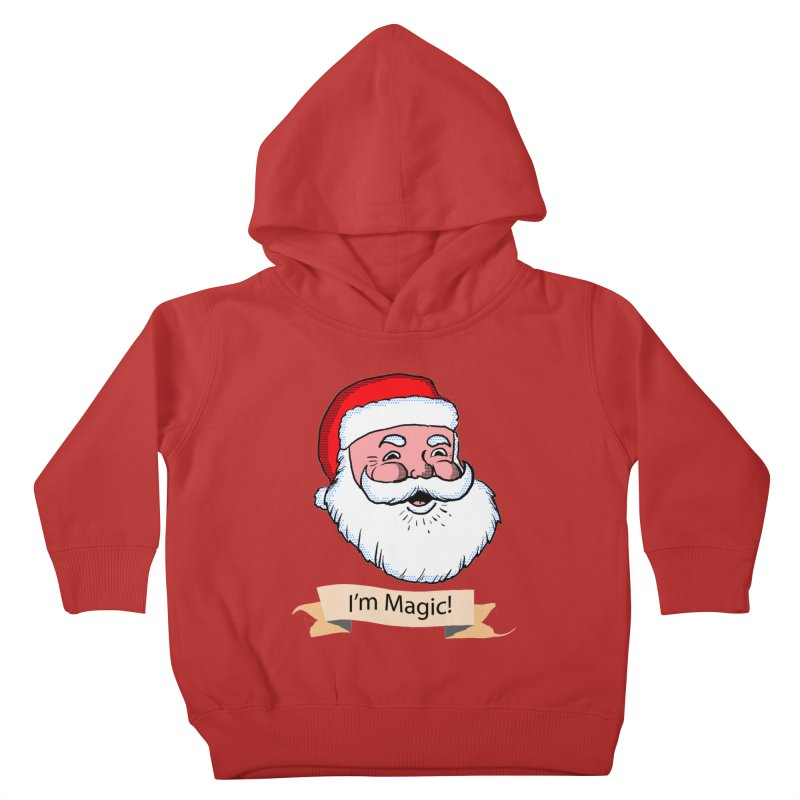 I'm Magic Santa Kids Toddler Pullover Hoody by ericallen's Artist Shop