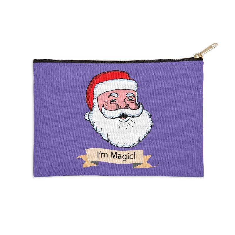 I'm Magic Santa Accessories Zip Pouch by ericallen's Artist Shop