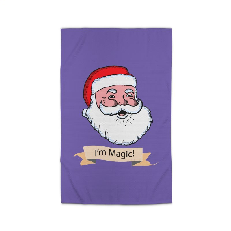 I'm Magic Santa Home Rug by ericallen's Artist Shop