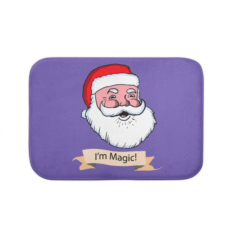 I'm Magic Santa Home Bath Mat by ericallen's Artist Shop