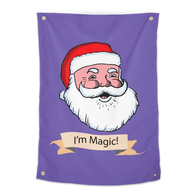 I'm Magic Santa Home Tapestry by ericallen's Artist Shop