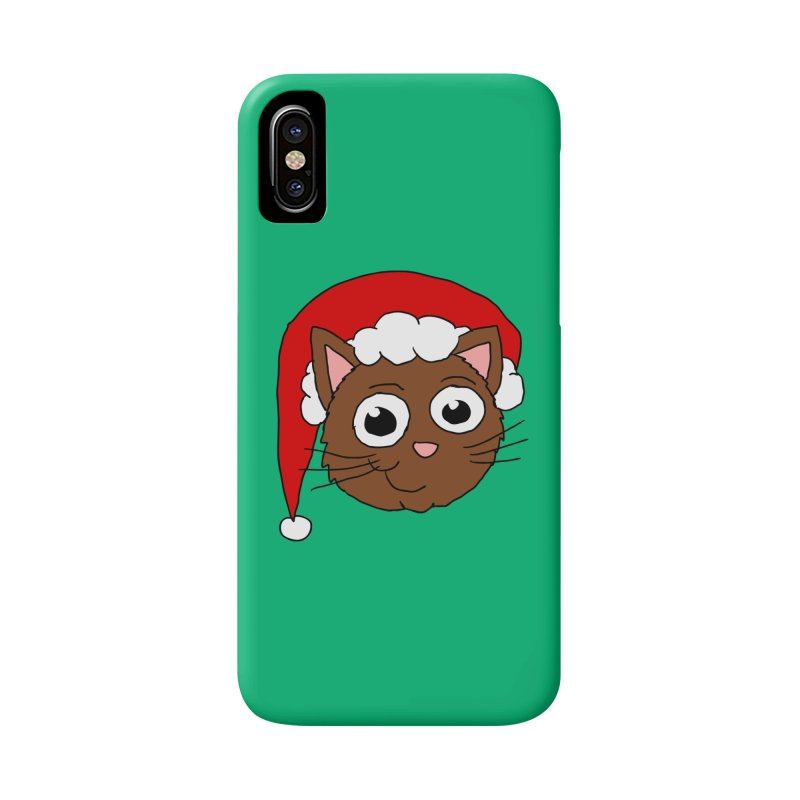 Cute Xmas Kitty Accessories Phone Case by ericallen's Artist Shop