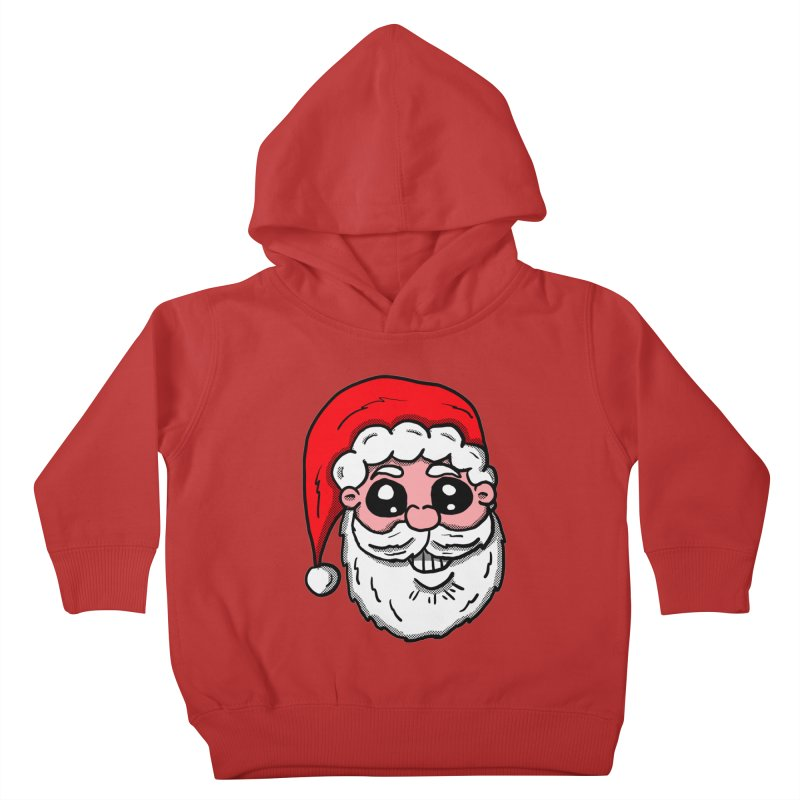 Santa Face Kids Toddler Pullover Hoody by ericallen's Artist Shop