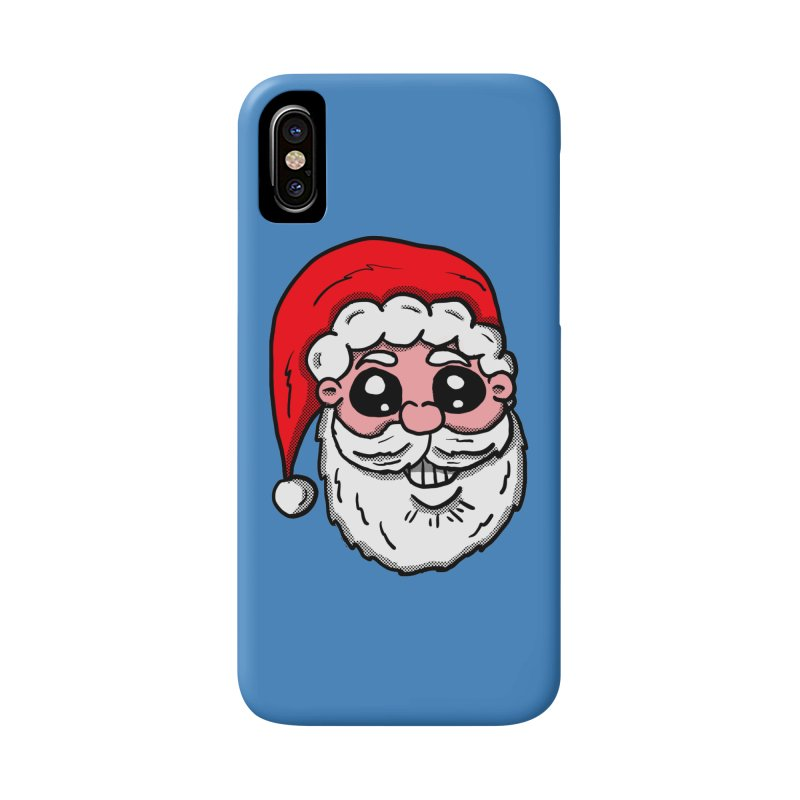 Santa Face Accessories Phone Case by ericallen's Artist Shop