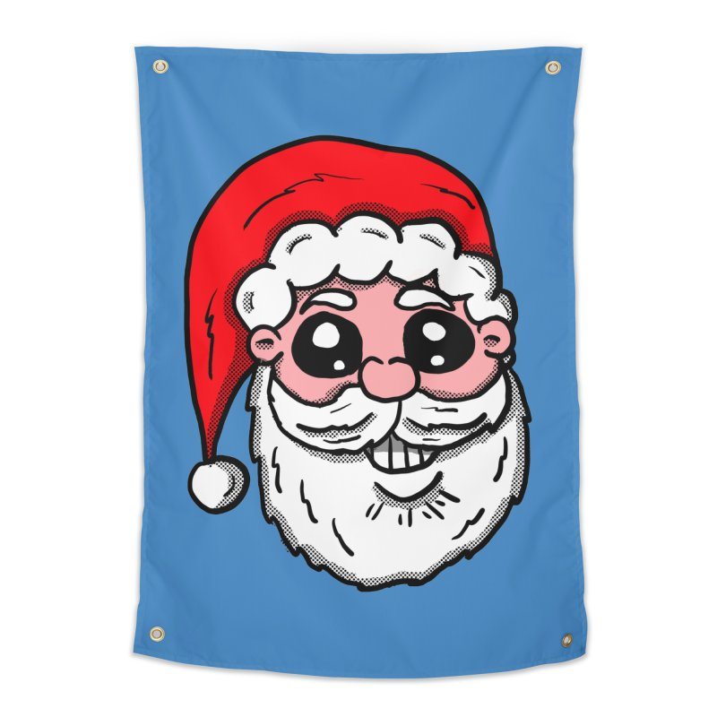 Santa Face Home Tapestry by ericallen's Artist Shop