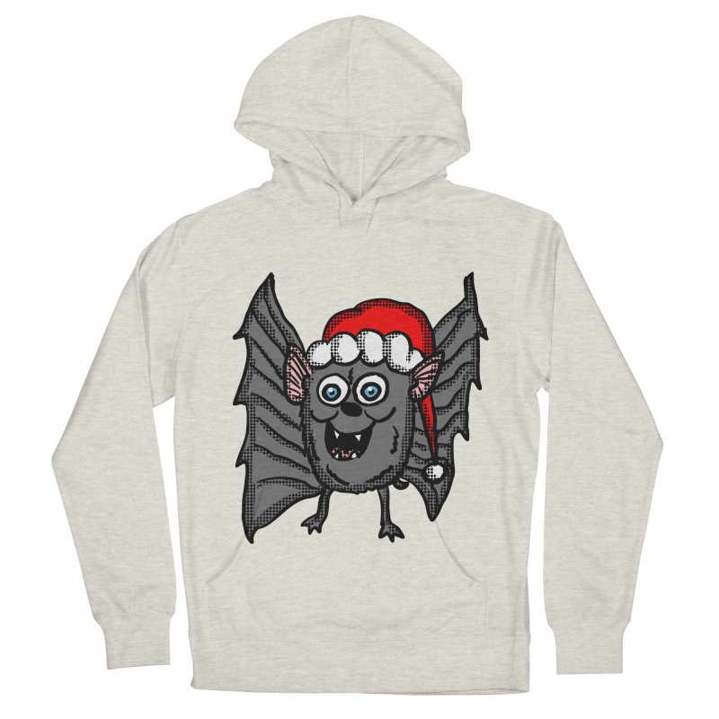 Christmas Bat Women's Pullover Hoody by ericallen's Artist Shop