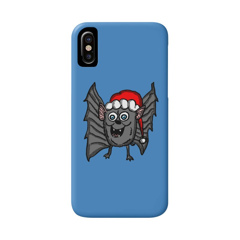Christmas Bat Accessories Phone Case by ericallen's Artist Shop