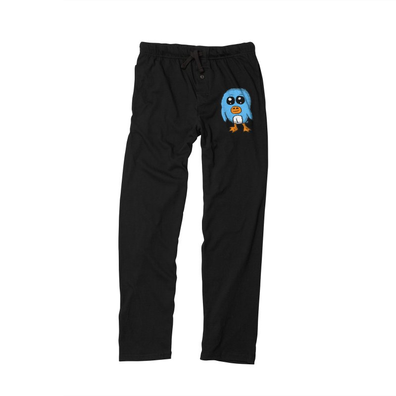 Cute Blue Penguin Women's Lounge Pants by ericallen's Artist Shop