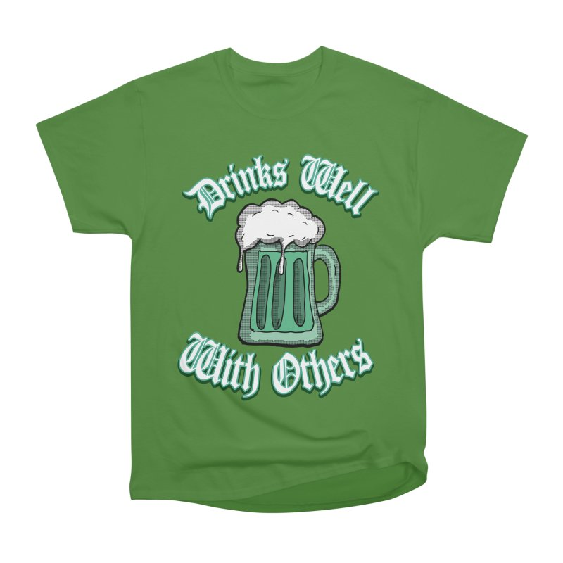 Drinks well with others Men's Classic T-Shirt by ericallen's Artist Shop