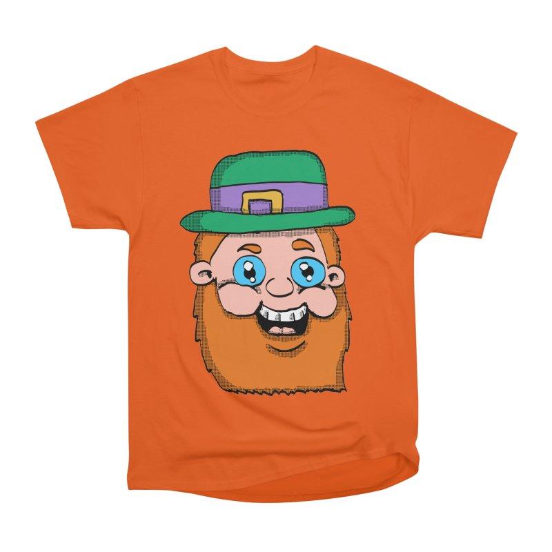 Leprechaun Head Men's Classic T-Shirt by ericallen's Artist Shop
