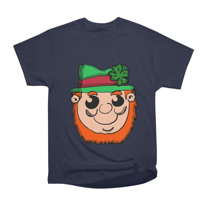 Cute Leprechun head Men's Classic T-Shirt by ericallen's Artist Shop