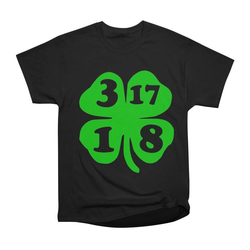 3-17-18 Shamrock Men's Classic T-Shirt by ericallen's Artist Shop