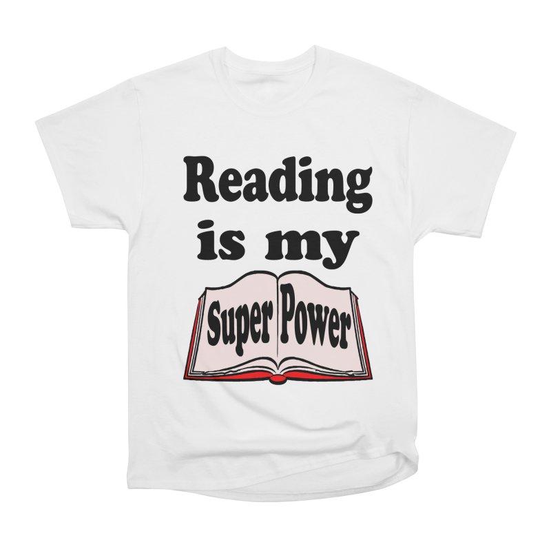 Reading is my Super Power Men's Classic T-Shirt by ericallen's Artist Shop