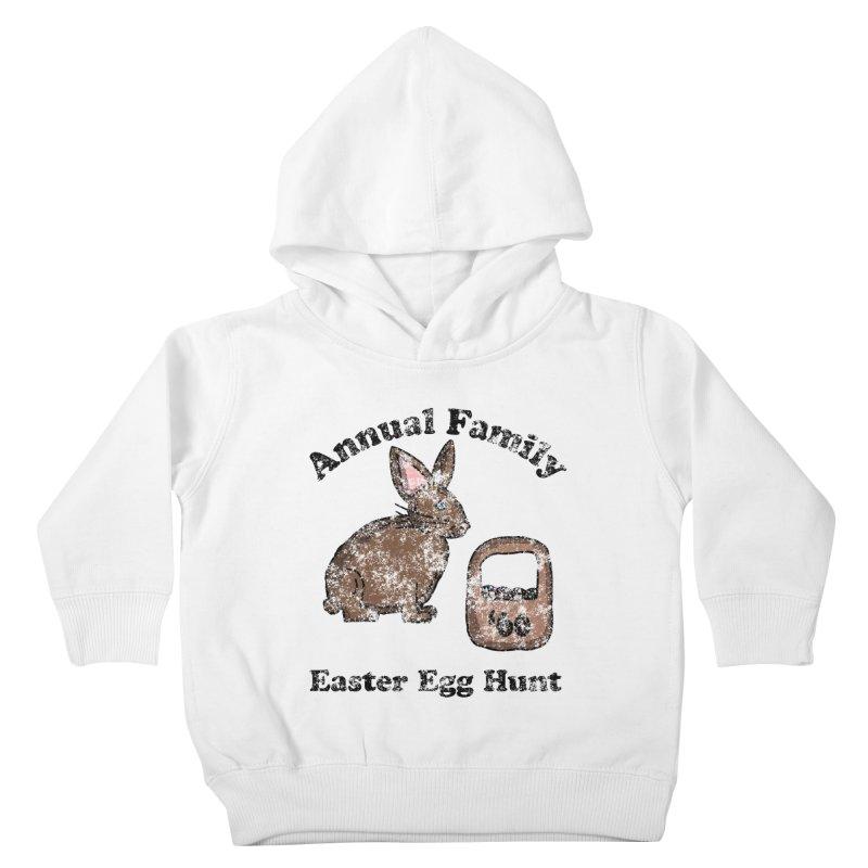 Vintage Annual Family Easter Egg Hunt Kids Toddler Pullover Hoody by ericallen's Artist Shop