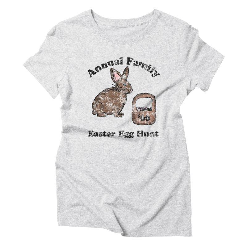 Vintage Annual Family Easter Egg Hunt Women's Triblend T-Shirt by ericallen's Artist Shop