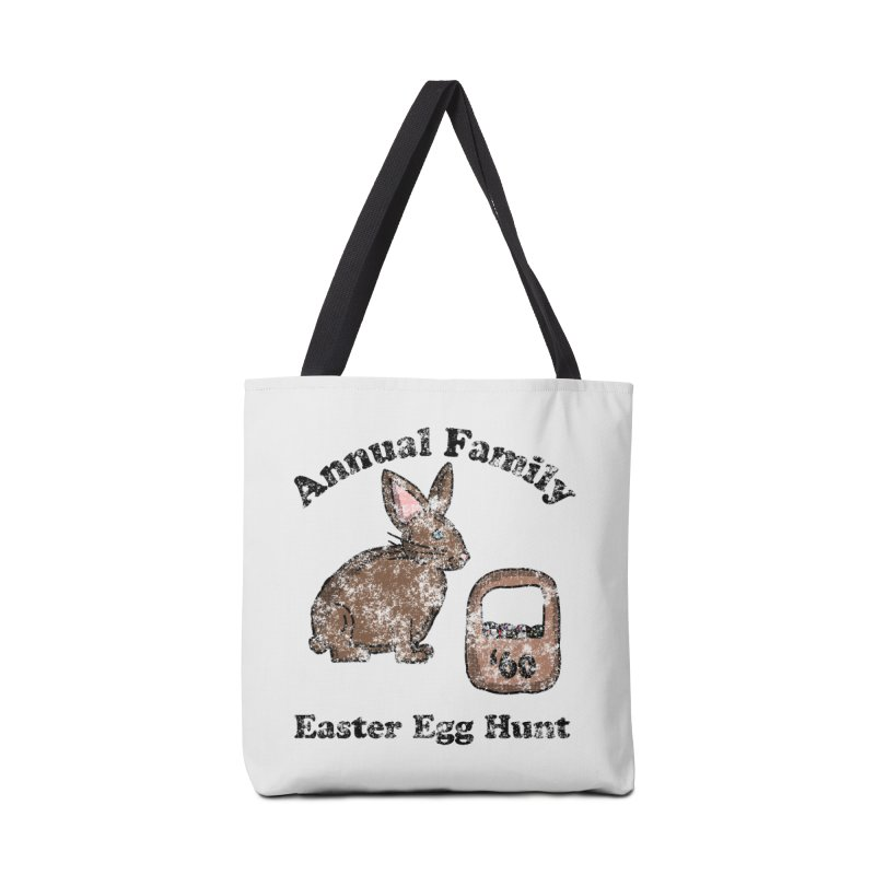 Vintage Annual Family Easter Egg Hunt Accessories Bag by ericallen's Artist Shop