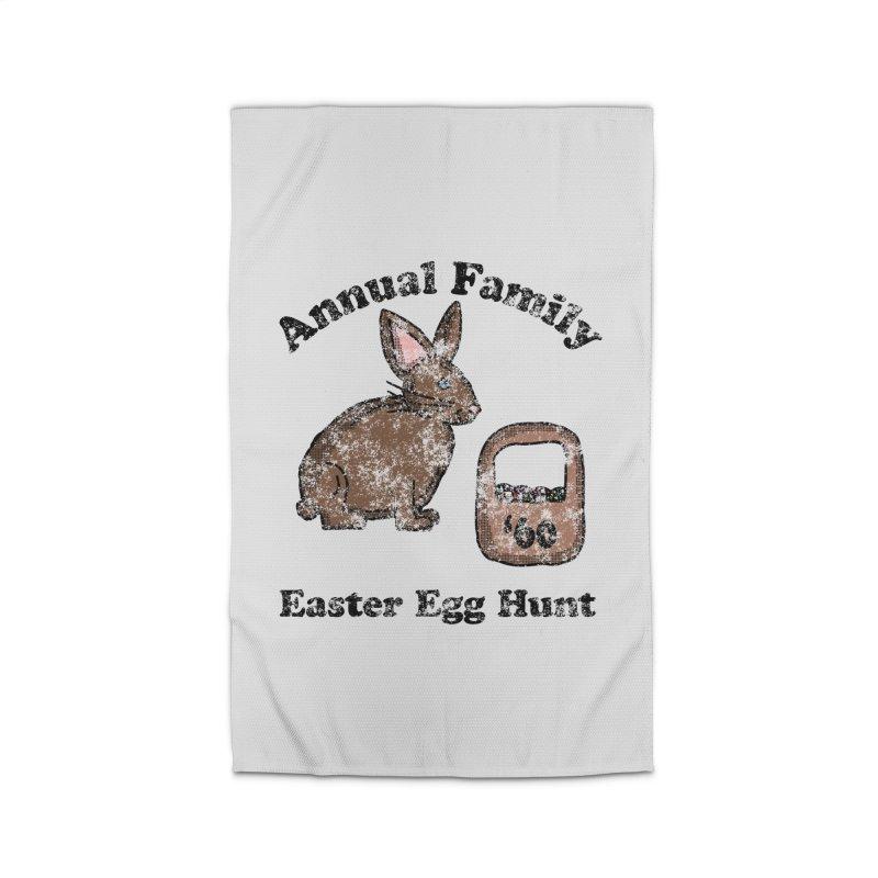 Vintage Annual Family Easter Egg Hunt Home Rug by ericallen's Artist Shop