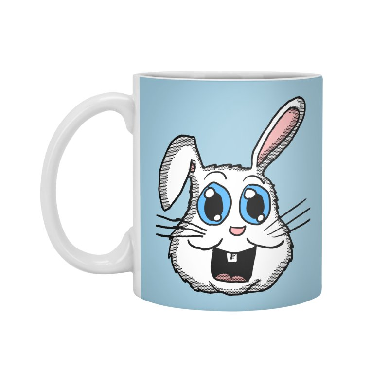 Easter Bunny Head Accessories Mug by ericallen's Artist Shop