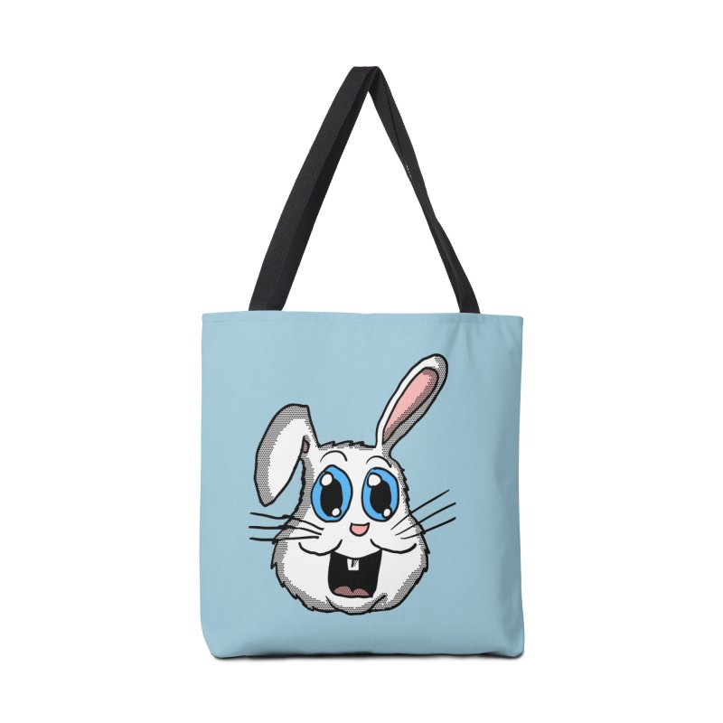 Easter Bunny Head Accessories Bag by ericallen's Artist Shop