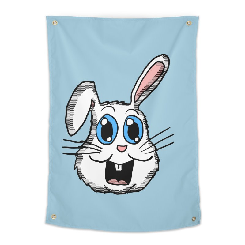 Easter Bunny Head Home Tapestry by ericallen's Artist Shop
